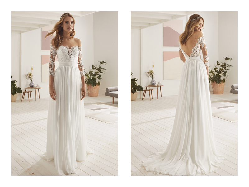 Vestiti Da Sposa White One.White One Pronovias Fg Bride Project